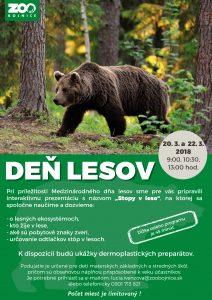 ZOO Bojnice - Medzinárodný deň lesov